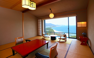 A Deluxe Room With Grand Views Of Amanohashidate Land Bridge Image