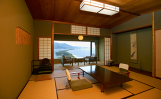 See Amanohashidate Land Bridge Anew From These Rooms Image