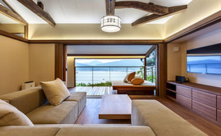 Japanese-Style Room, With A Miyazu Bay View Image